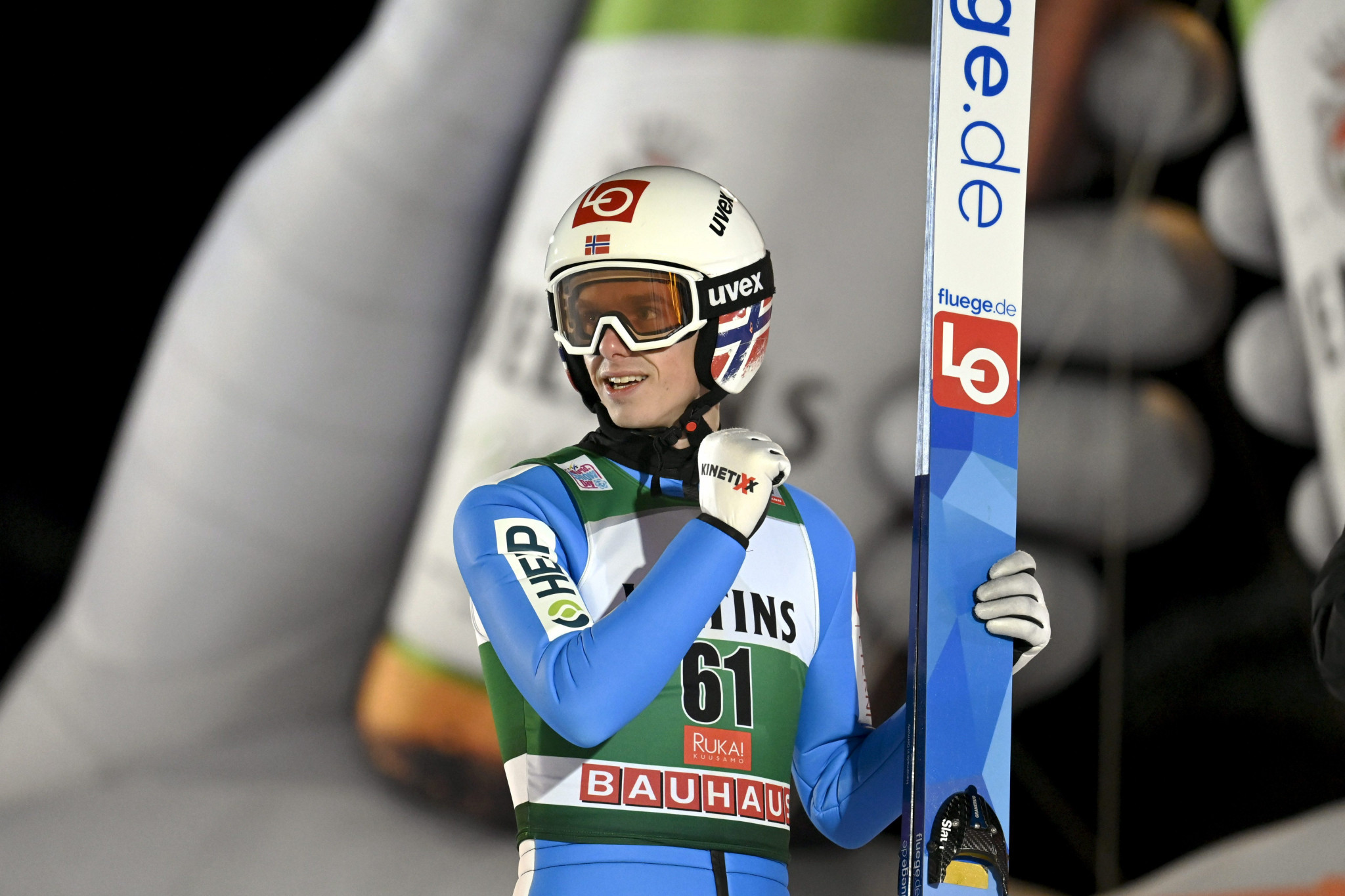 Granerud pips Eisenbichler to gold at FIS Ski Jumping World Cup in Ruka