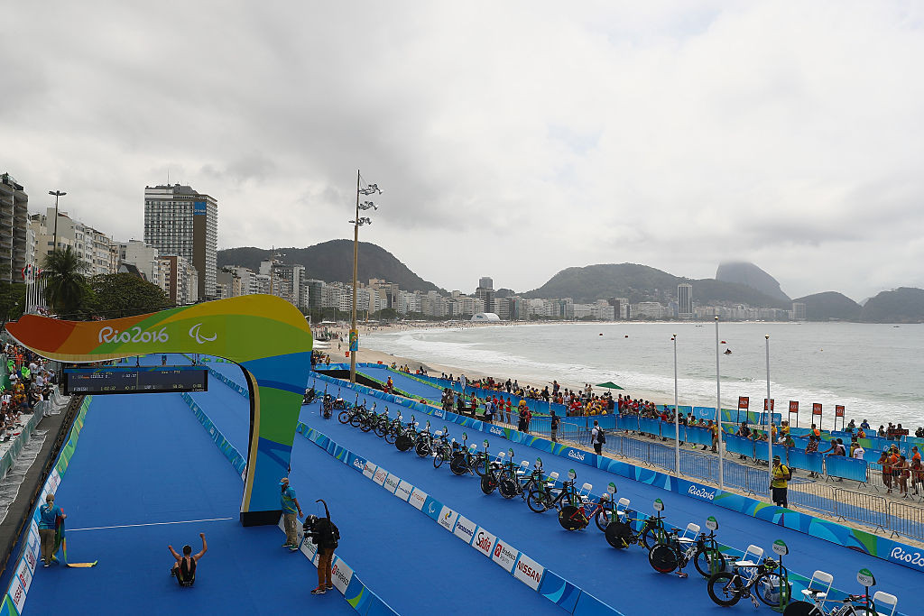 Paratriathlon made its Paralympic Games debut at Rio 2016 ©Getty Images