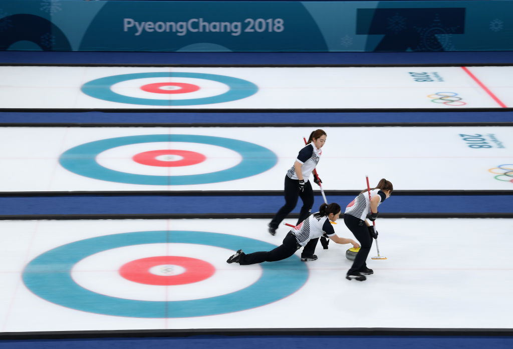 The South Korean women's curling team shot to fame at the 2018 Winter Olympic Games in Pyeongchang ©Getty Images