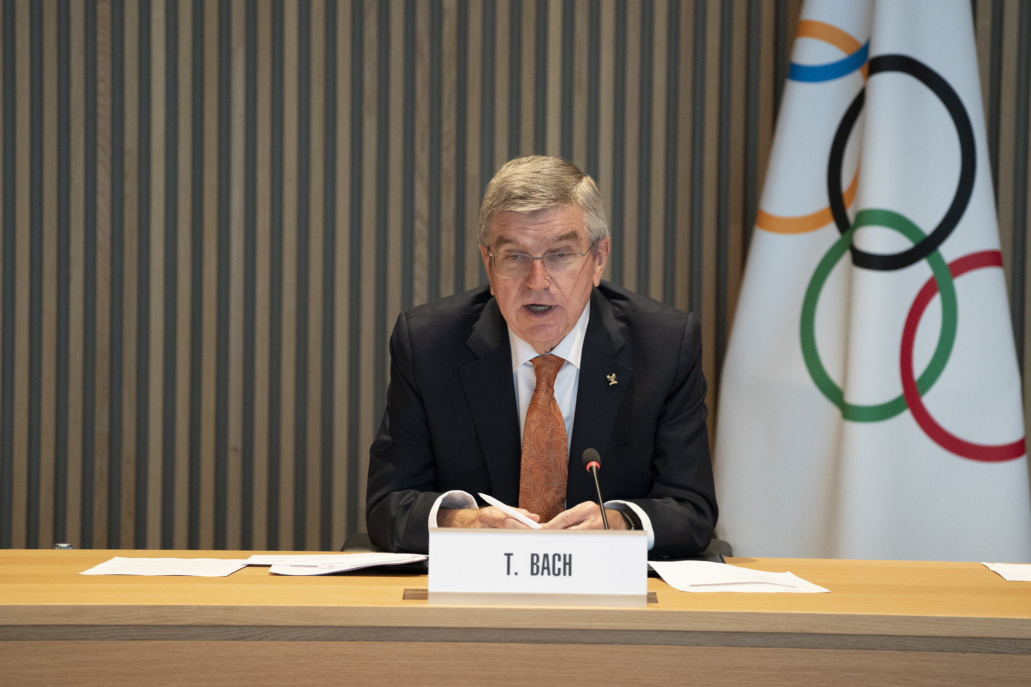 Thomas Bach is set to be re-elected IOC President ©Getty Images