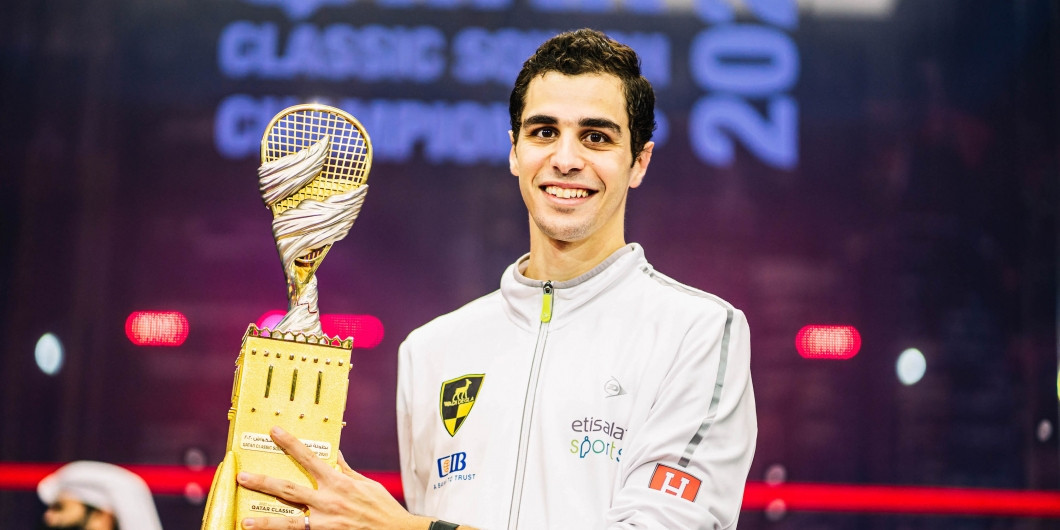 Egyptian squash player Ali Farag awarded World Games Athlete of the Month for November