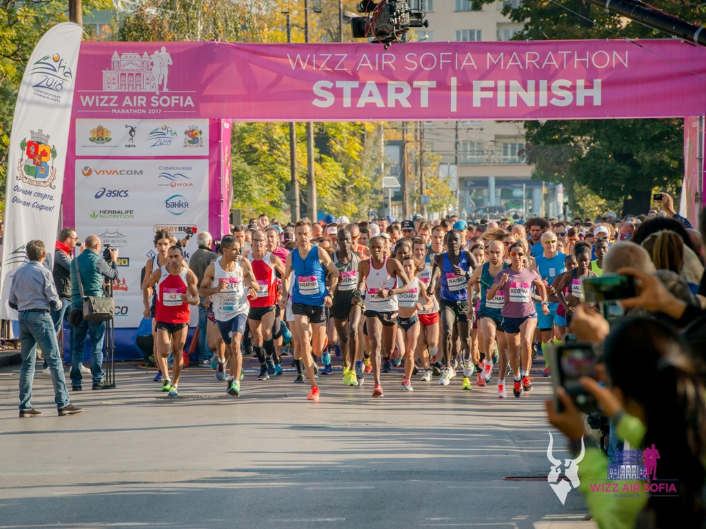 The Sofia Marathon is a World Athletics bronze label road race ©Sofia Marathon