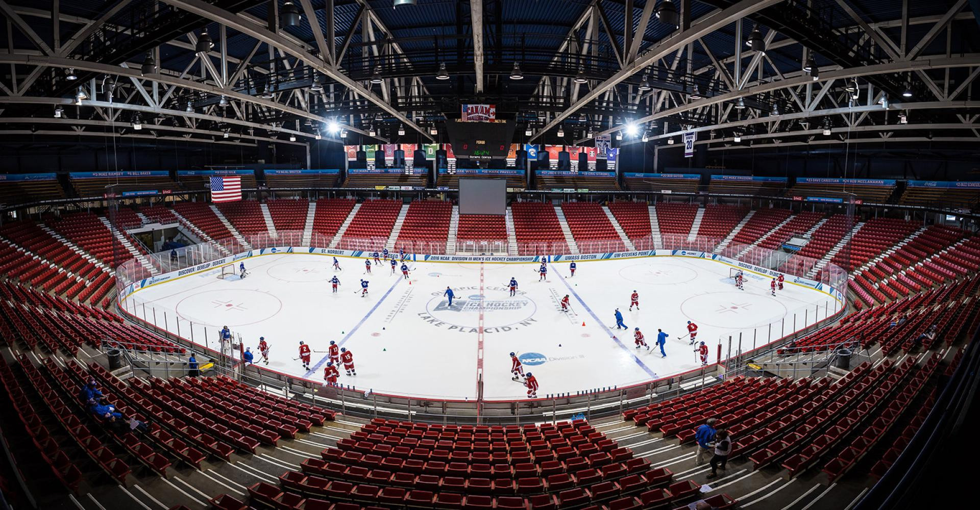 The NWHL season will take place at the Rink-Herb Brooks Arena in Lake Placid ©Lake Placid