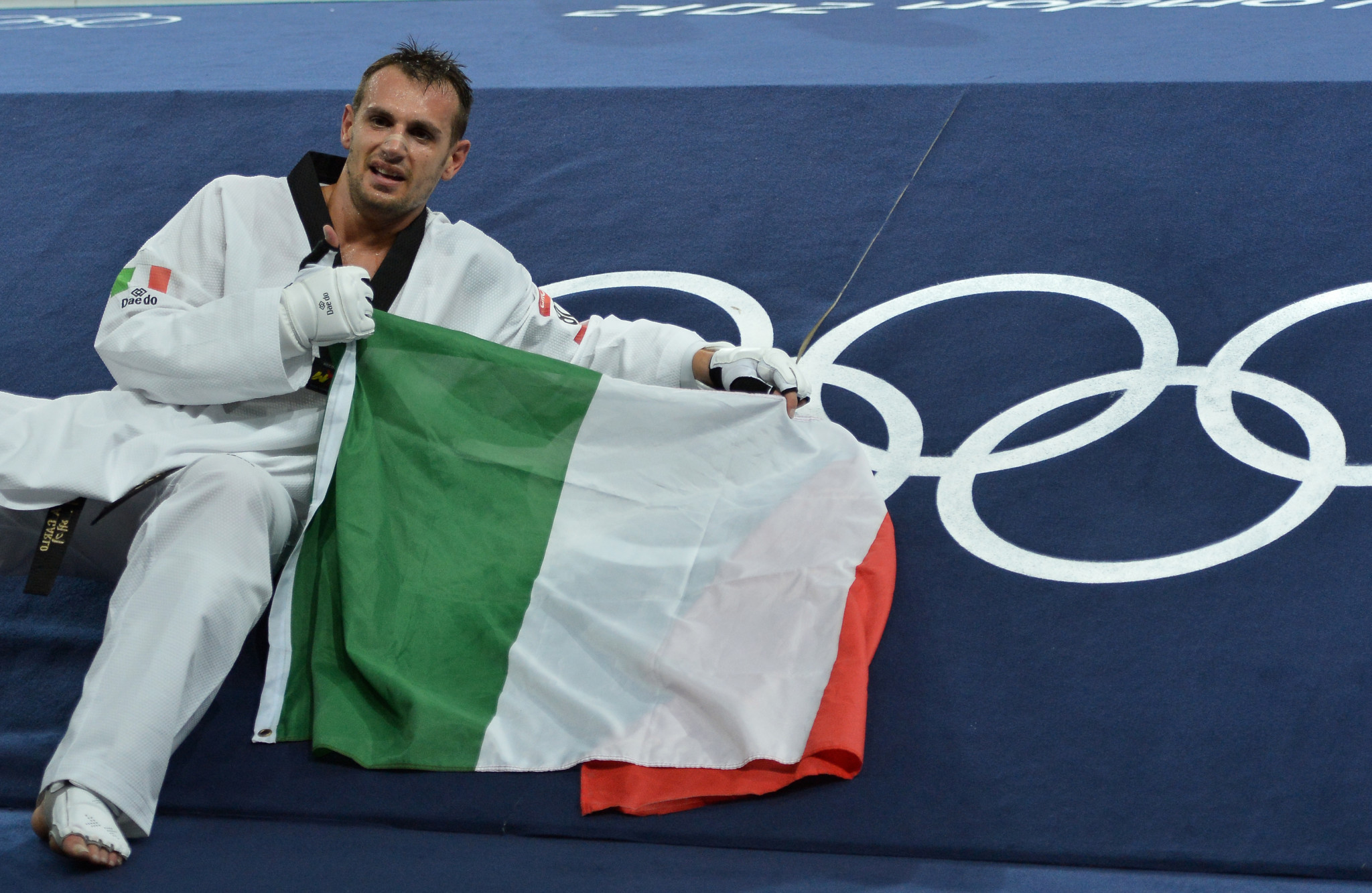 Olympic gold medallist Carlo Molfetta won re-election as an athletes' representative ©Getty Images