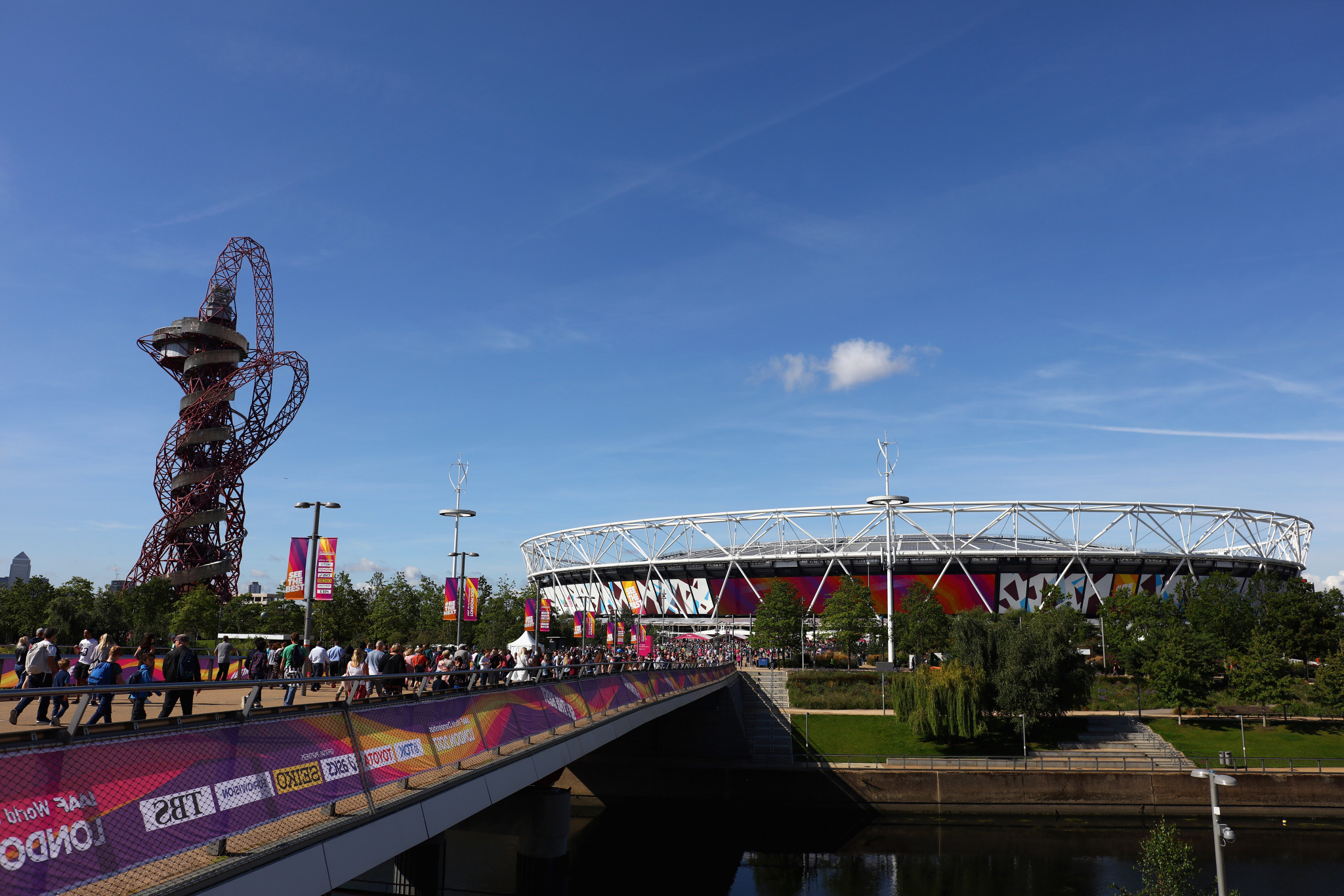 Garden to honour COVID-19 victims to be created at London 2012's Olympic Park