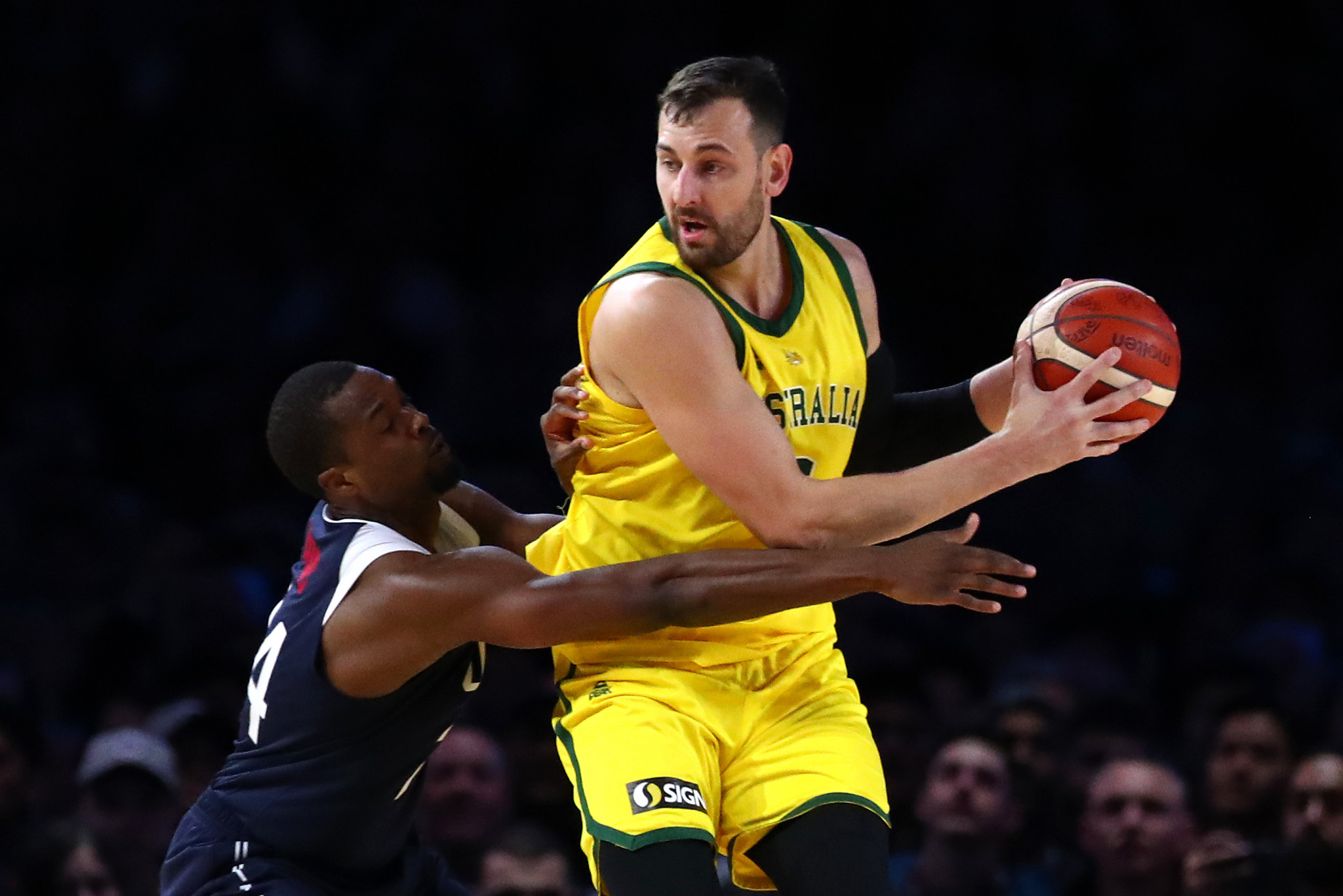 Andrew Bogut represented Australia at Athens 2004, Beijing 2008 and Rio 2016 ©Getty Images