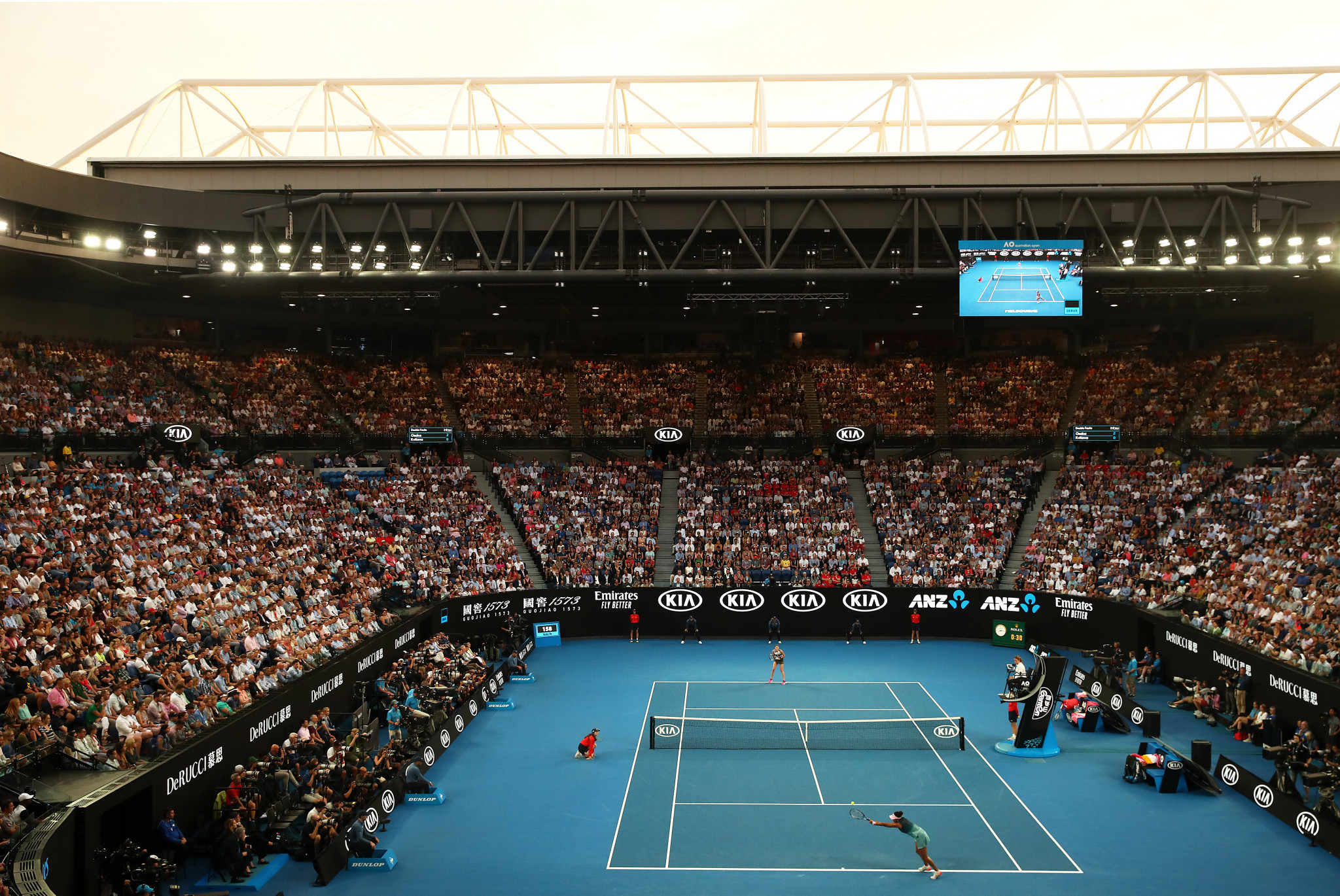 Next year's Australian Open will reportedly take place from February 8 to 21 ©Getty Images