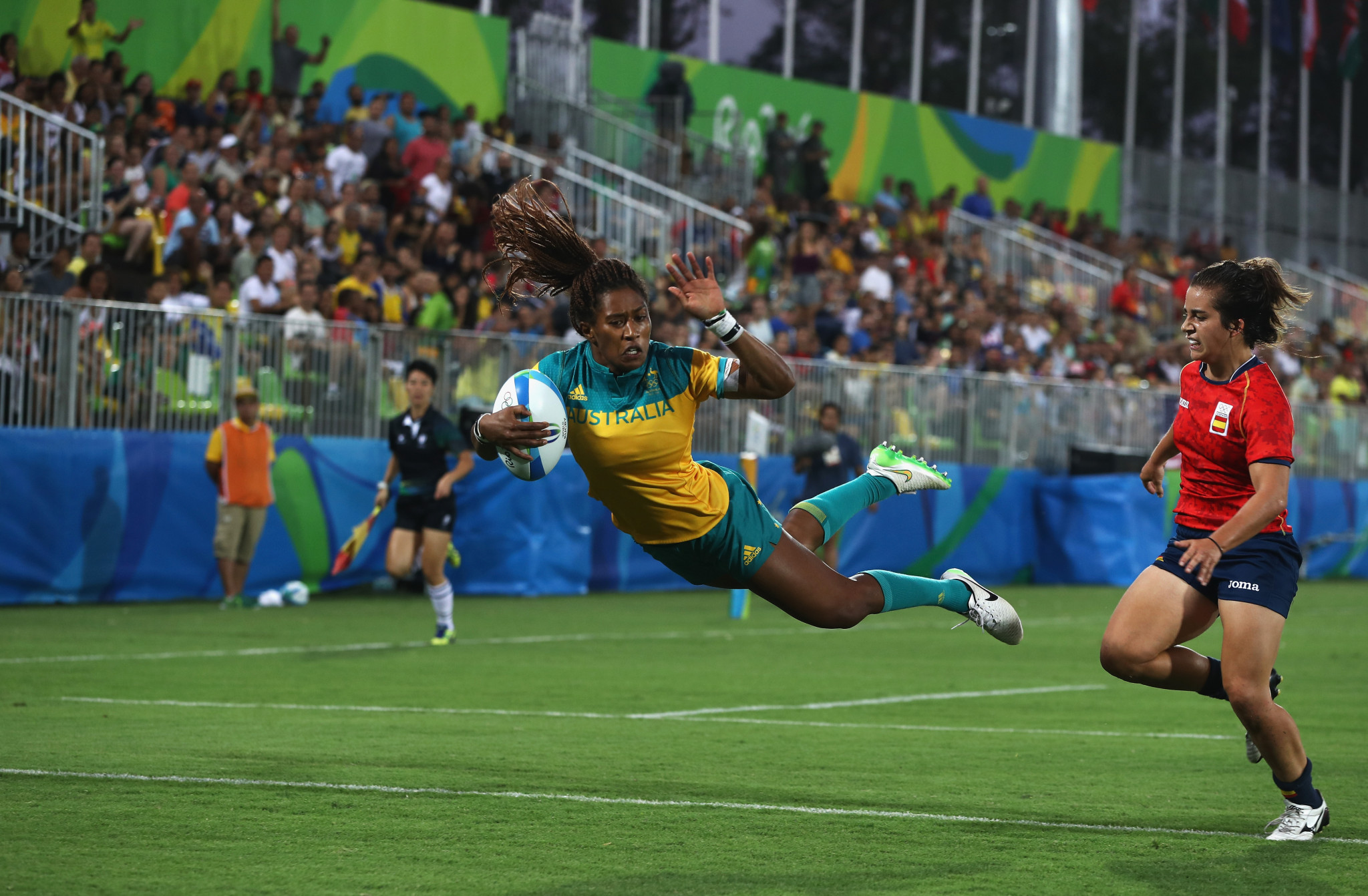 Rugby sevens made its Olympic debut in 2016 ©Getty Images