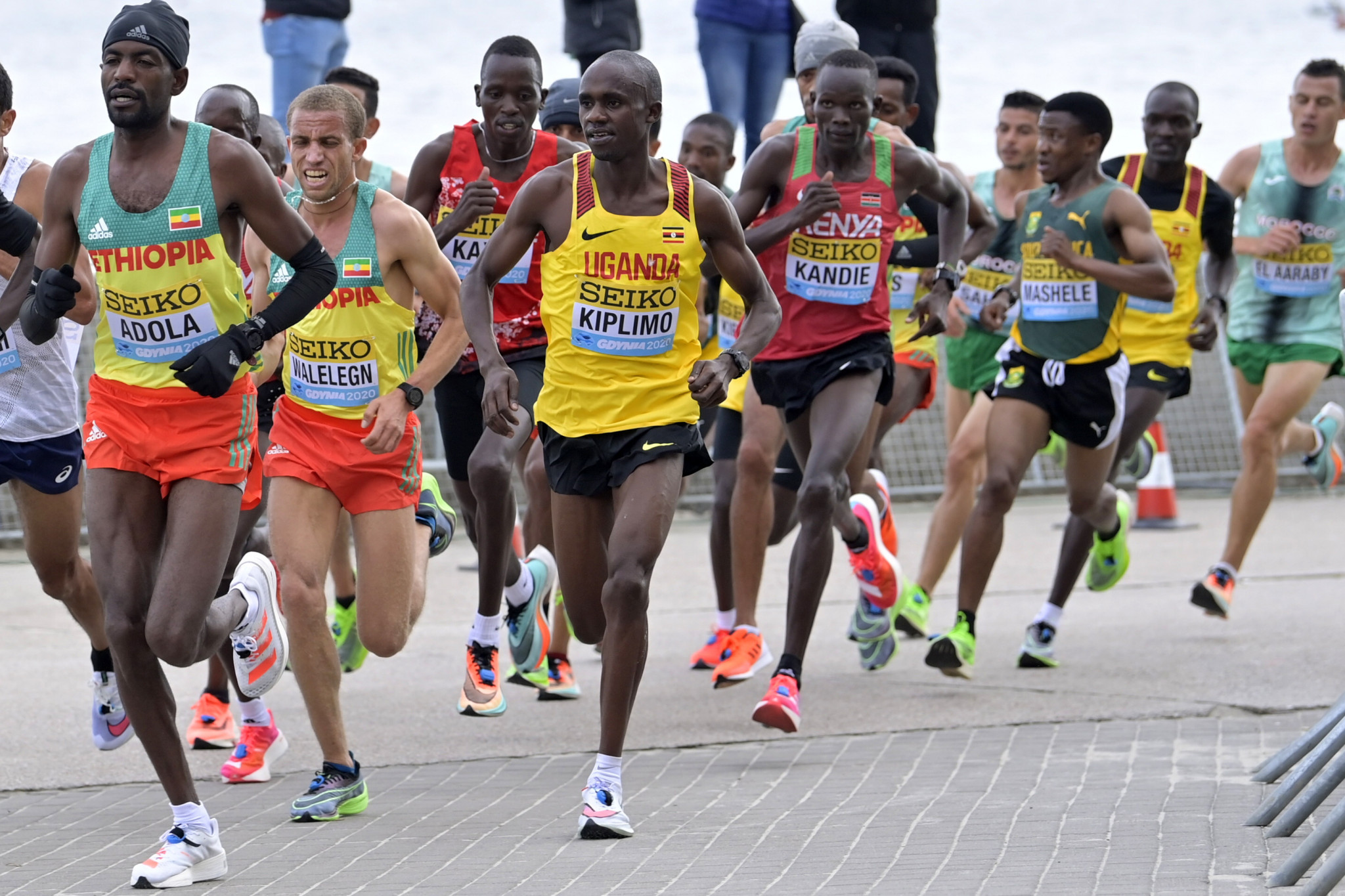 The World Half Marathon Championships in Gdynia in October came close to being cancelled, World Athletics President Sebastian Coe has revealed ©Getty Images