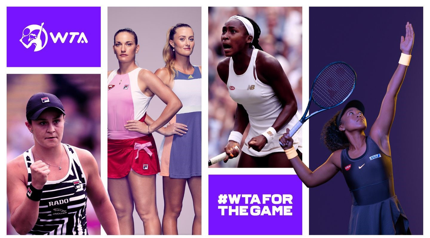 WTA launch new corporate identity and simplify tournament naming system