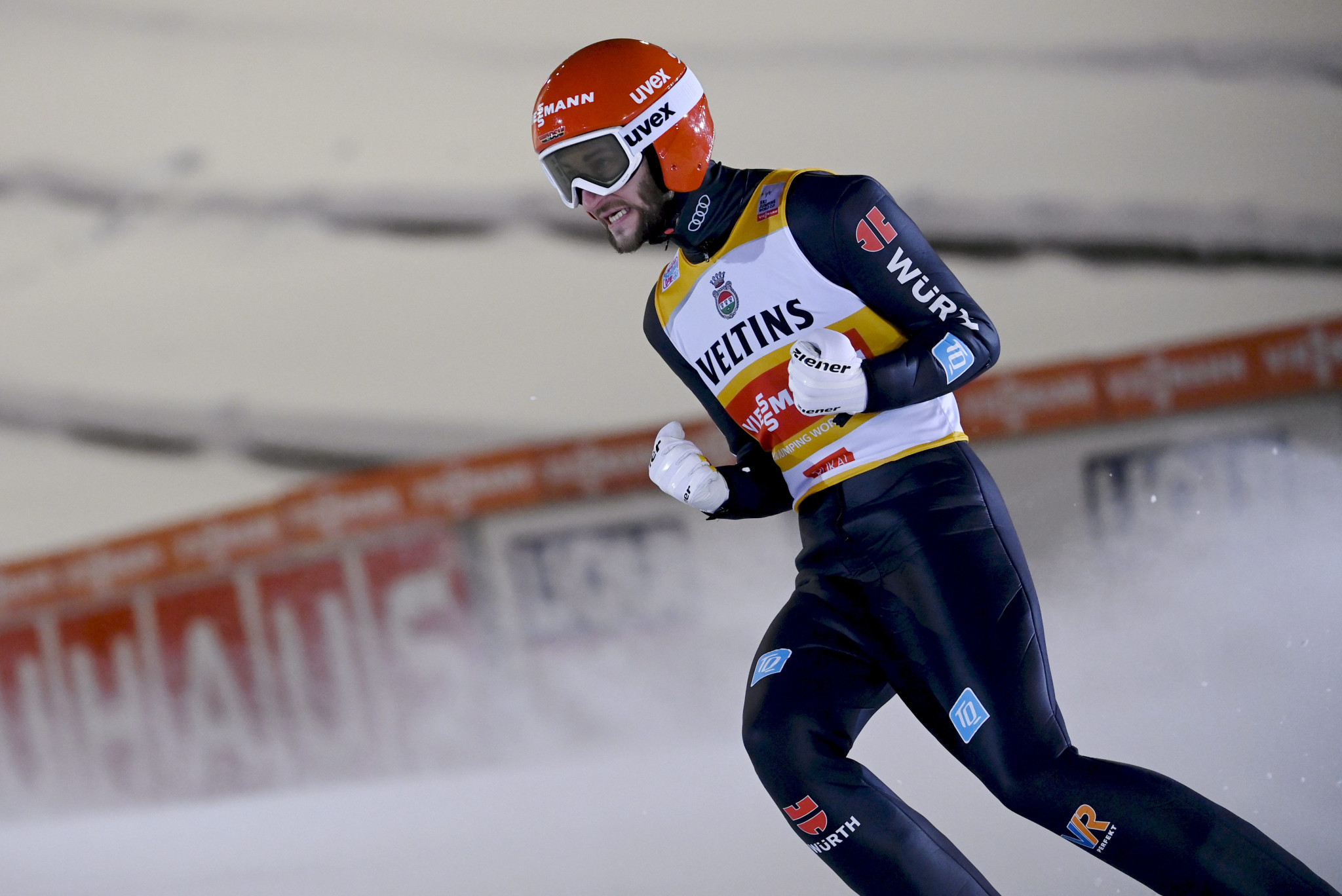 Markus Eisenbichler of Germany will aim to continue his good start to the FIS Ski Jumping World Cup season ©Getty Images