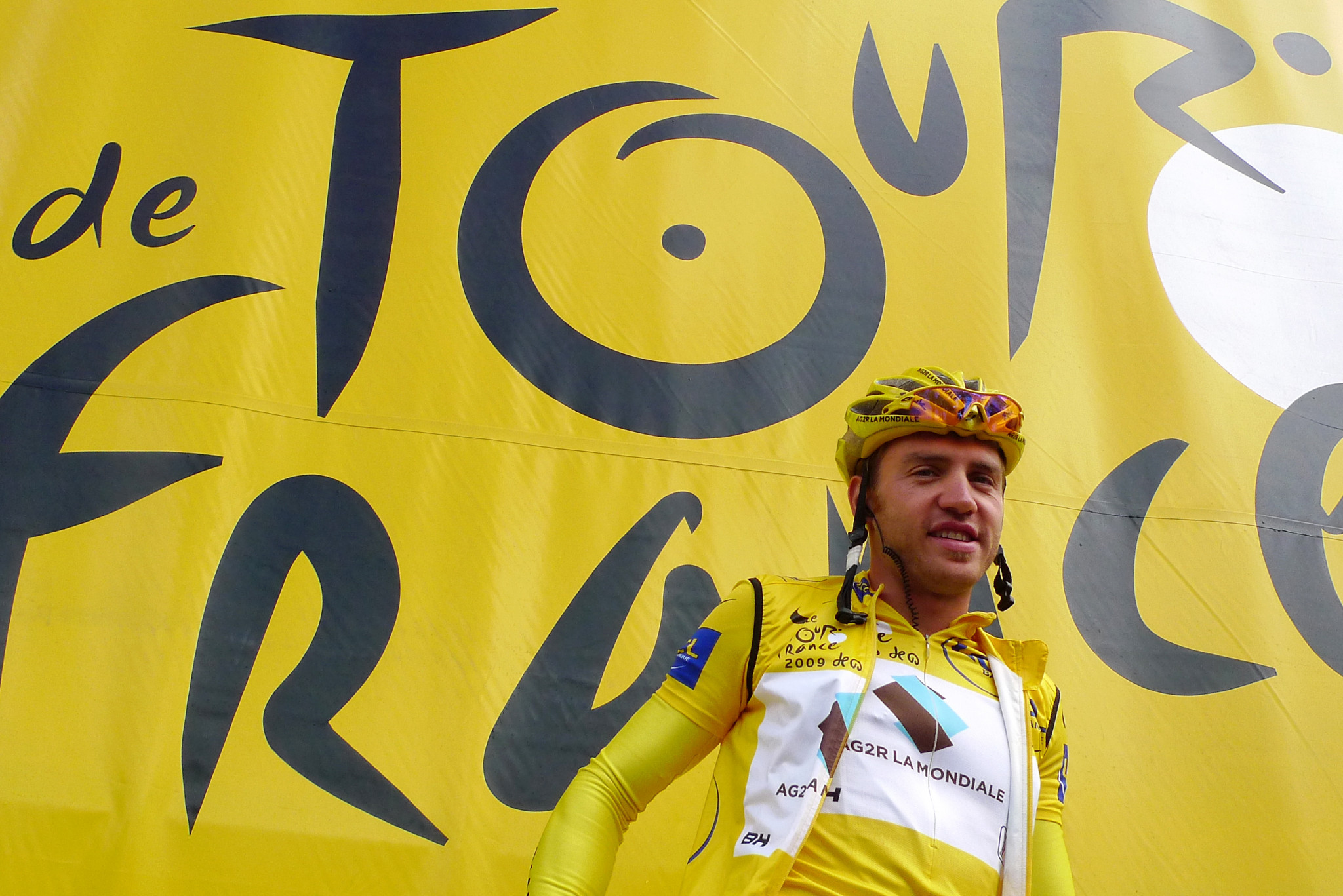 Rinaldo Nocentini led the Tour de France for eight stages in 2009 ©Getty Images