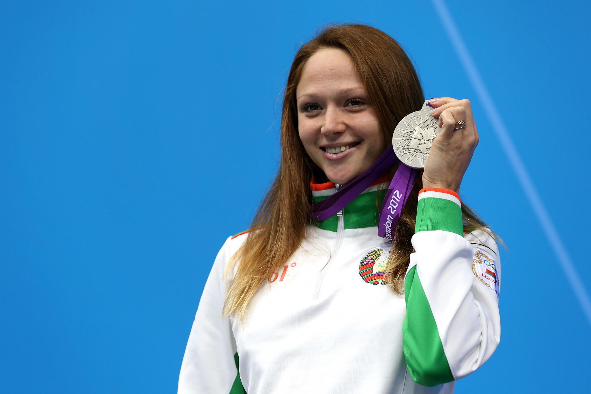 Aliaksandra Herasimenia is a three-time Olympic medallist for Belarus ©Getty Images