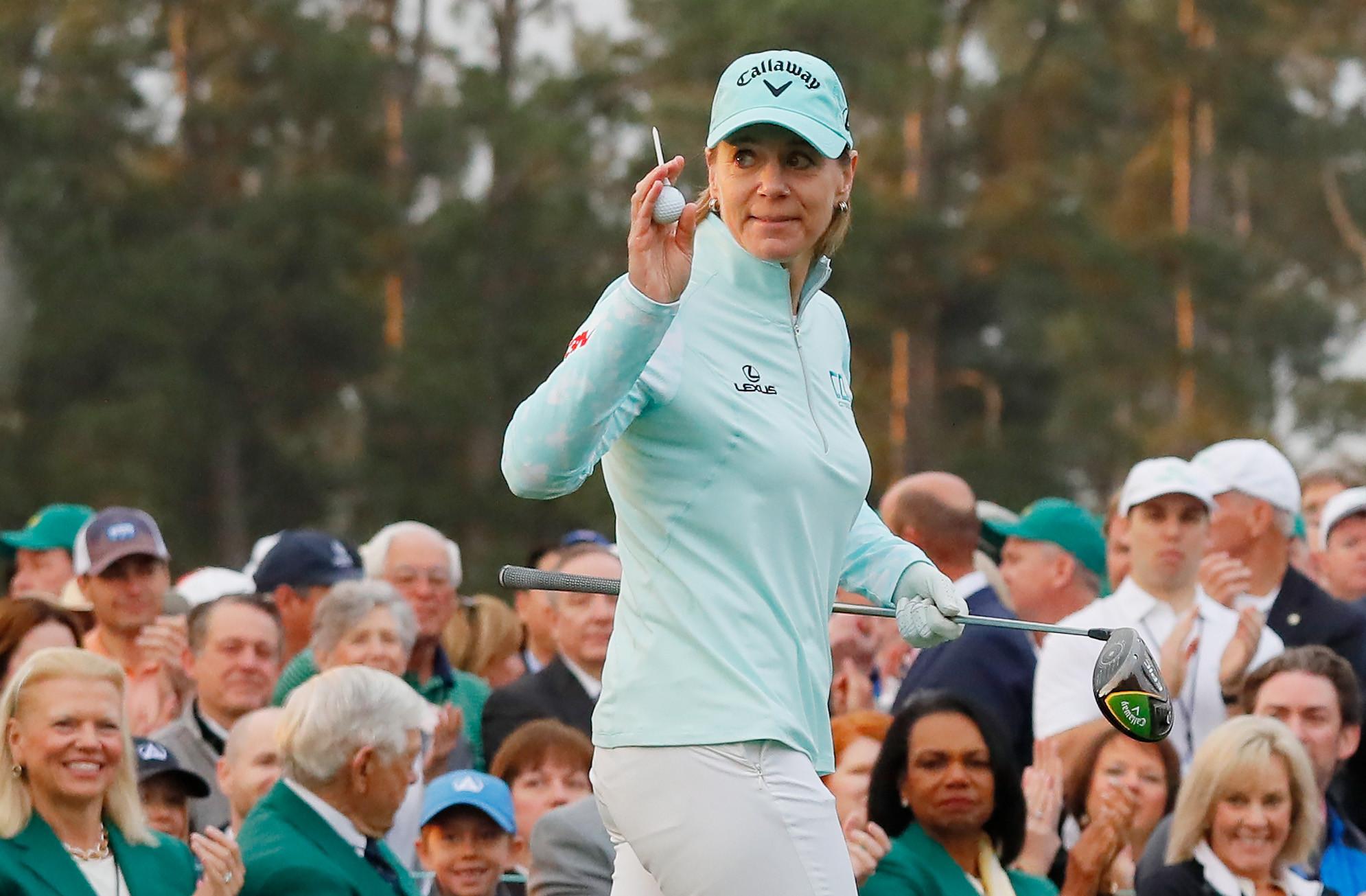 Annika Sörenstam won 10 major titles during a glittering golf career ©Getty Images