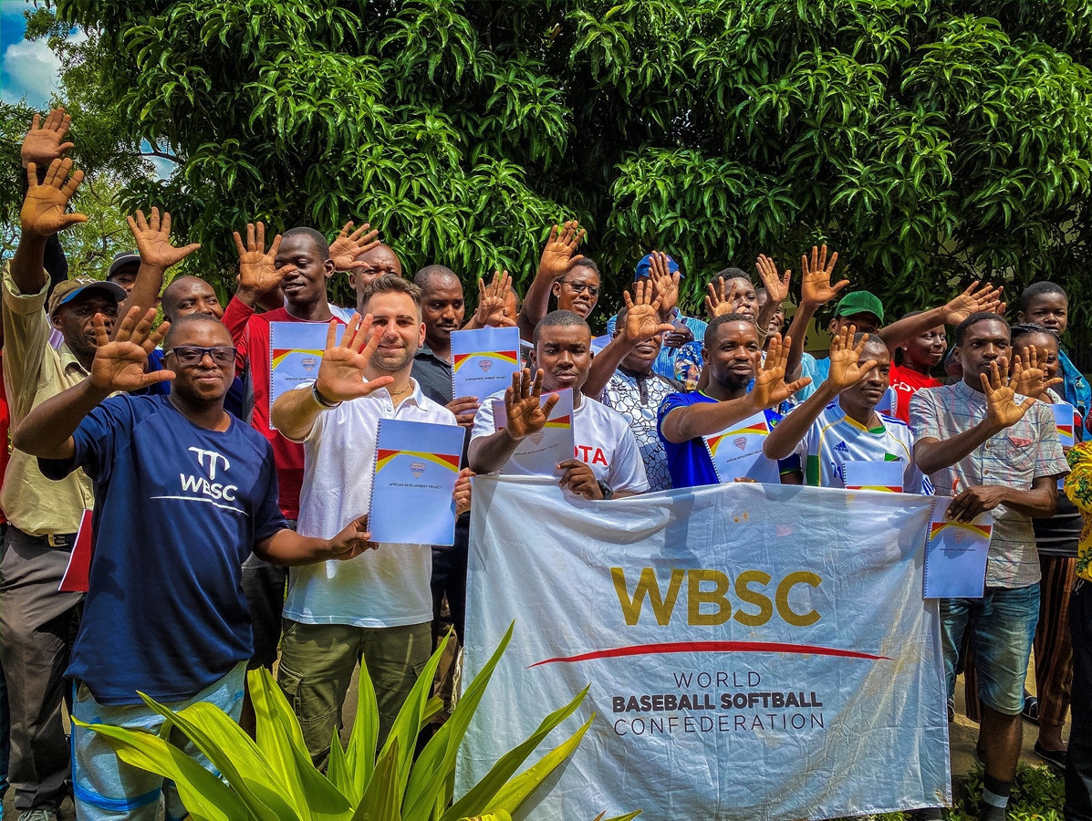 An  Africa Development Project run by the WBSC took place in Tanzania earlier this year before the coronavirus pandemic struck ©WBSC