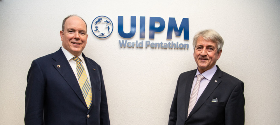 Prince Albert opens new UIPM headquarters in Monaco