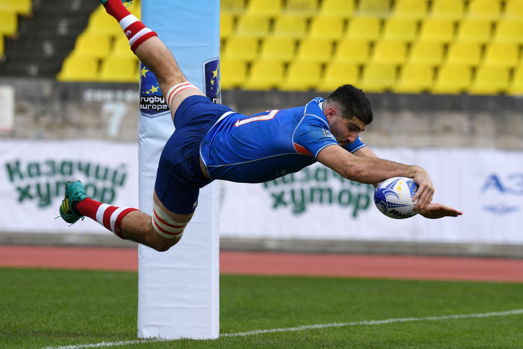 Octavian Morariu has vowed to work to promote and improve the Rugby Europe Championship ©Getty Images