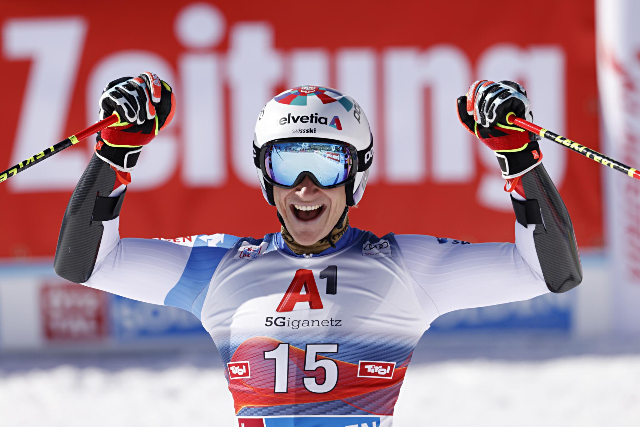 Odermatt eyeing more giant slalom success at FIS Alpine Ski World Cup leg in Santa Caterina
