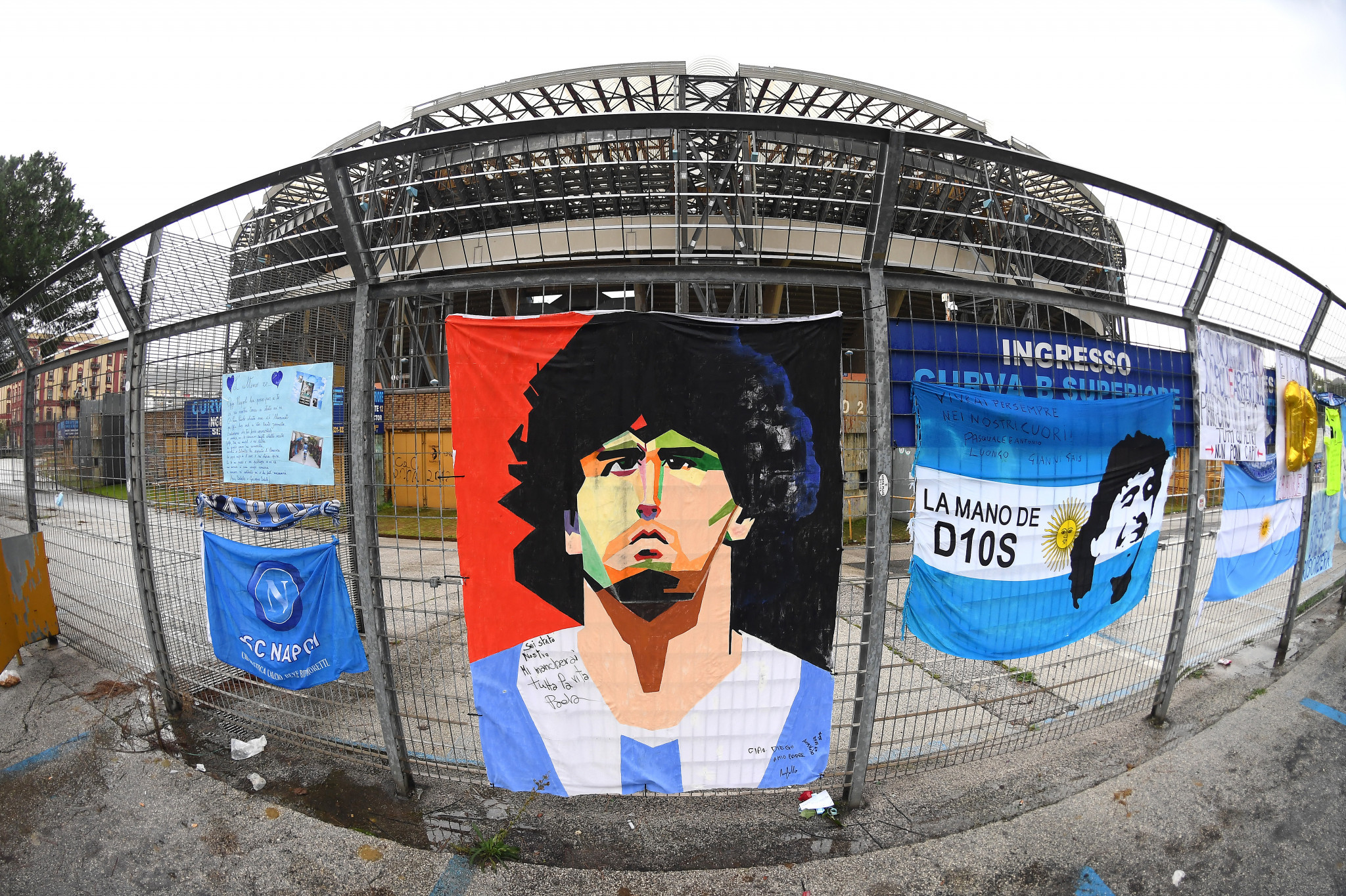 Naples 2019 Opening Ceremony stadium re-named in Diego Maradona's honour