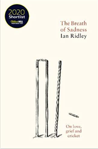 Ian Ridley's shortlisted book dealt with the grief of losing his wife, Sun sports writer Vikki Orvice, and how watching cricket helped him process his experience ©Floodlit Dreams