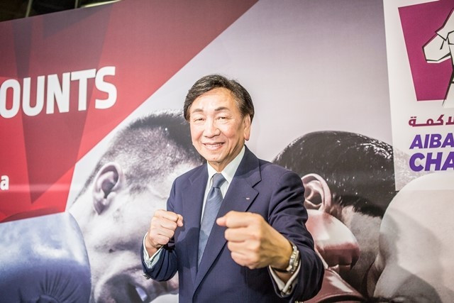 C K Wu says this year will be a special one for AIBA ©AIBA