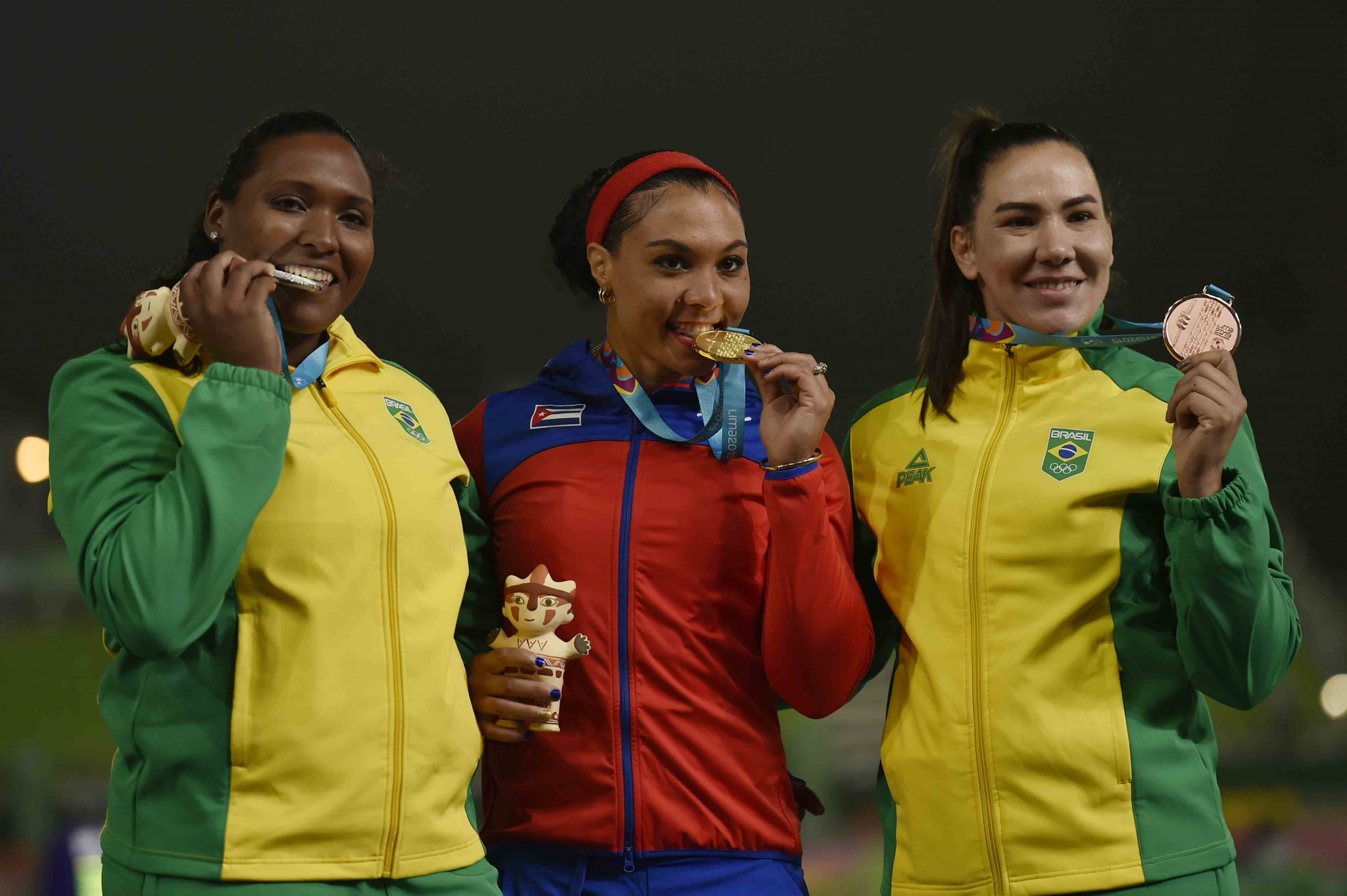Andressa Oliveira de Morais was stripped of her silver medal at the Lima 2019 Pan American Games ©Getty Images
