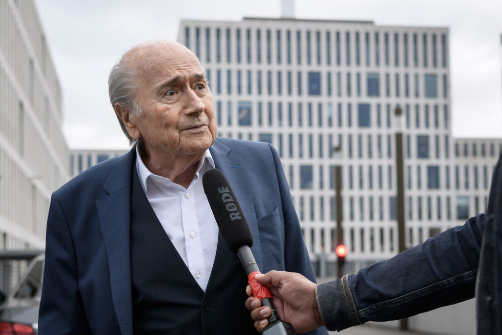 Banned former FIFA head Blatter reveals positive test for COVID-19