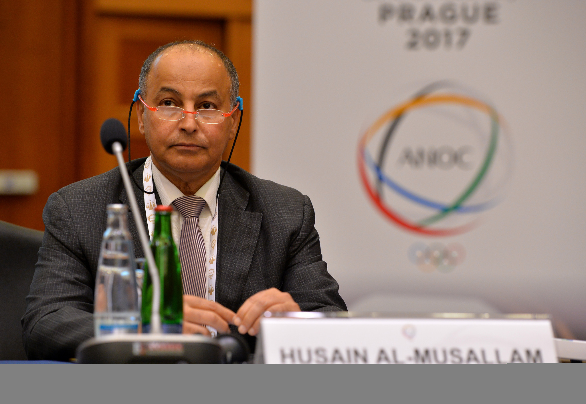 Al-Musallam's bid for FINA Presidency receives glowing support from Ramsamy