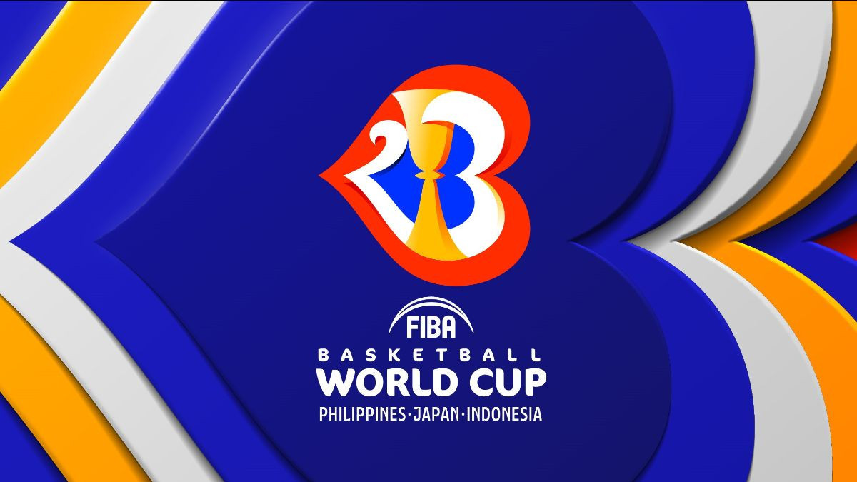 The logo for the 2023 Basketball World Cup has been revealed ©FIBA