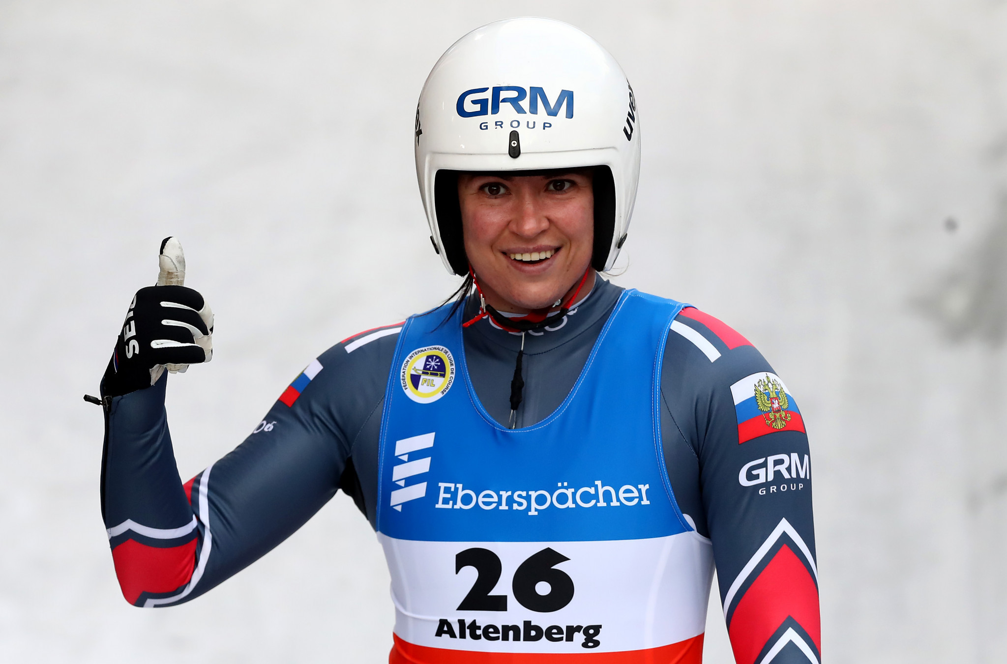 Ivanova triumphs at FIL Luge World Cup in Altenberg