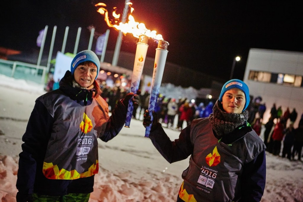 In pictures: Start of Lillehammer 2016 Torch Relay