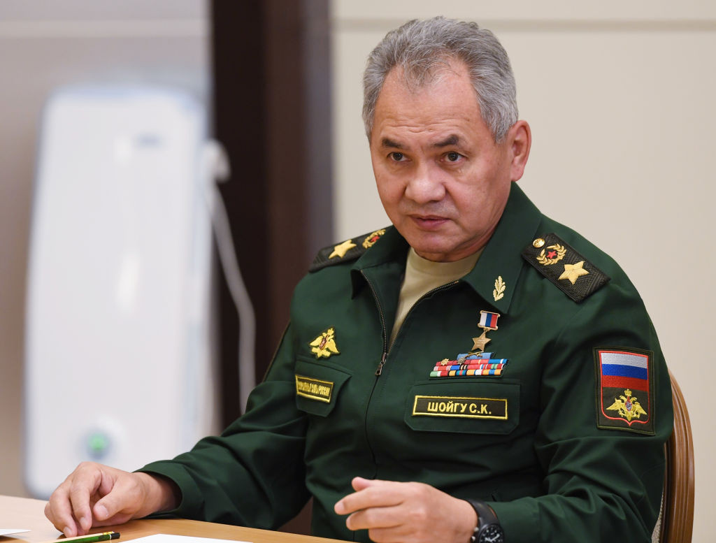 Ksenia Shoigu is the daughter of Russia's Defence Minister Sergey Shoigu ©Getty Images