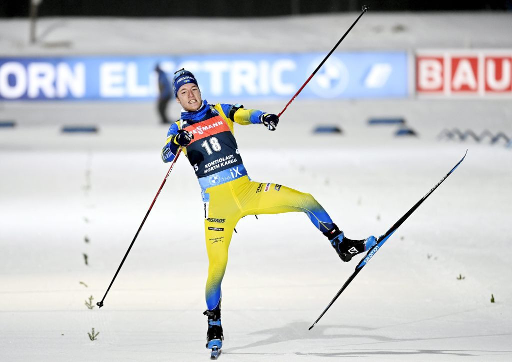 Samuelsson wins pursuit to clinch first IBU World Cup victory