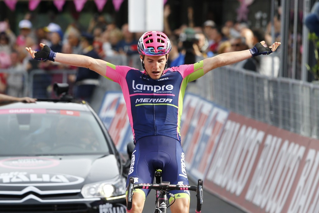 Polanc claims breakaway victory on stage five of Giro d'Italia as Contador assumes race lead