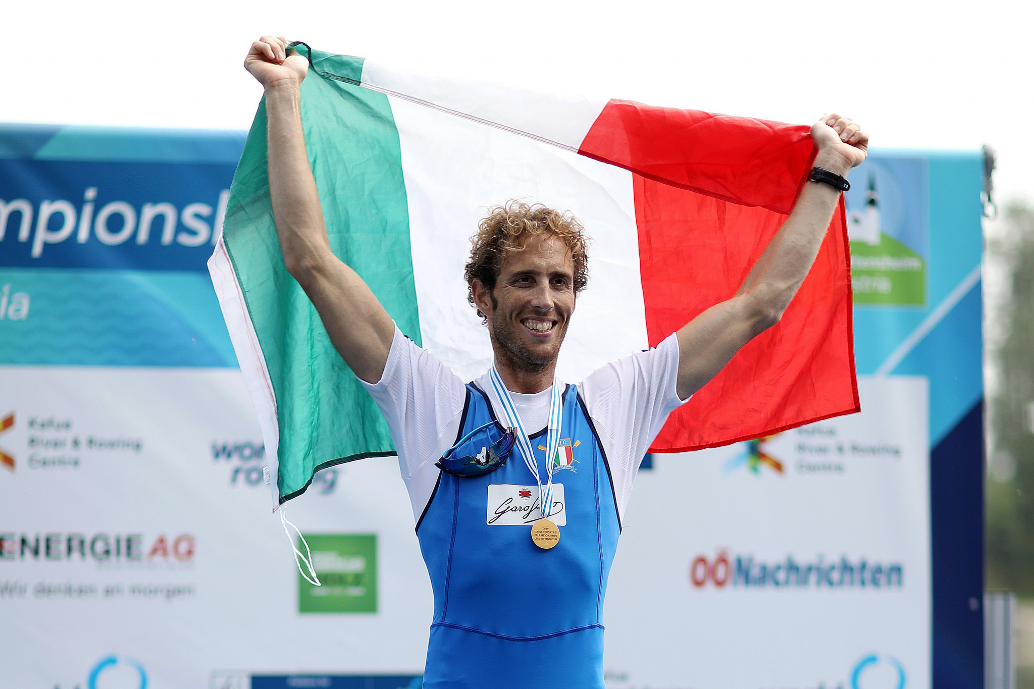 Italy's Martino Goretti secured his place at next year's World Rowing Indoor Championships ©Getty Images
