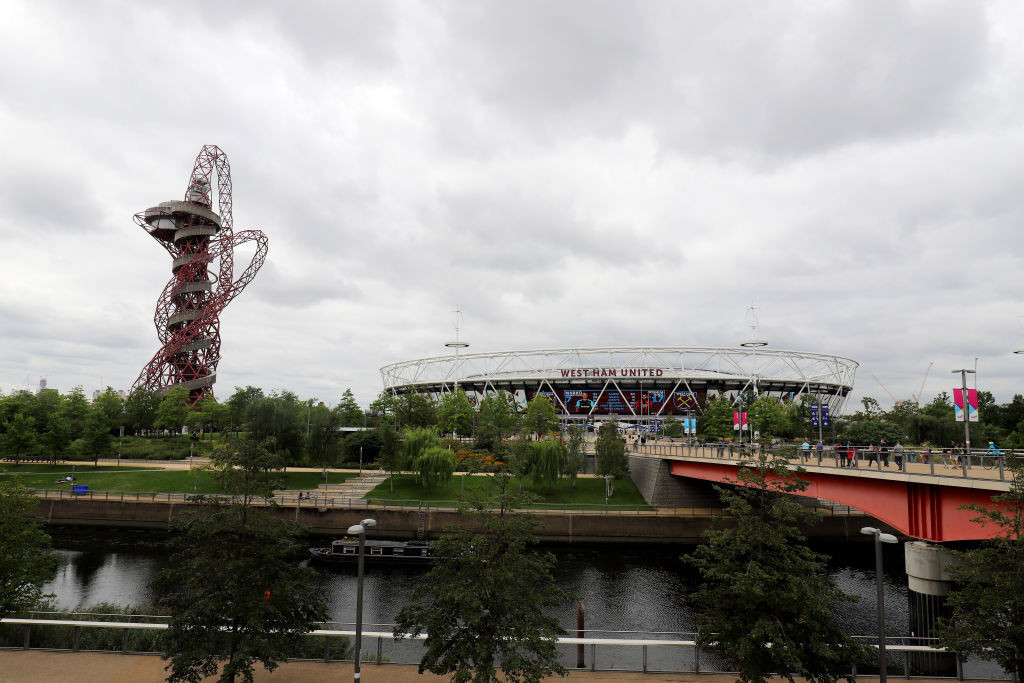 The Queen Elizabeth Olympic Park was deemed an important asset during the coronavirus lockdown ©Getty Images