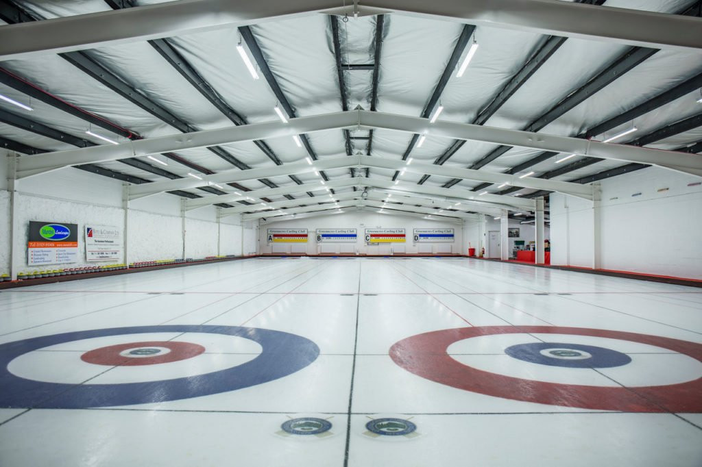 Greenacres Curling Club has been used for World Curling Federation events in the past ©WCF