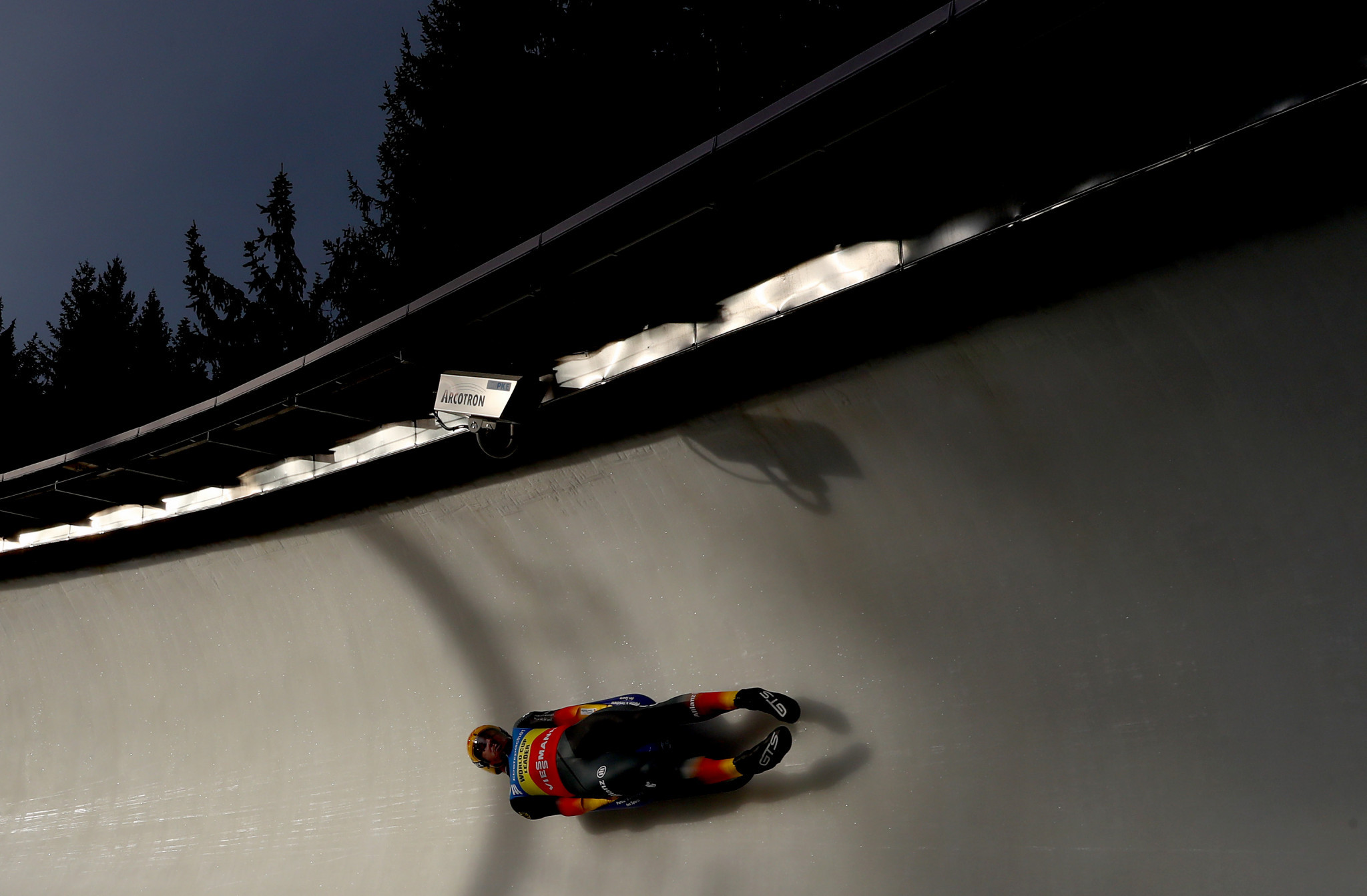 Felix Loch earned his second successive FIL Luge World Cup men's singles win ©Getty Images