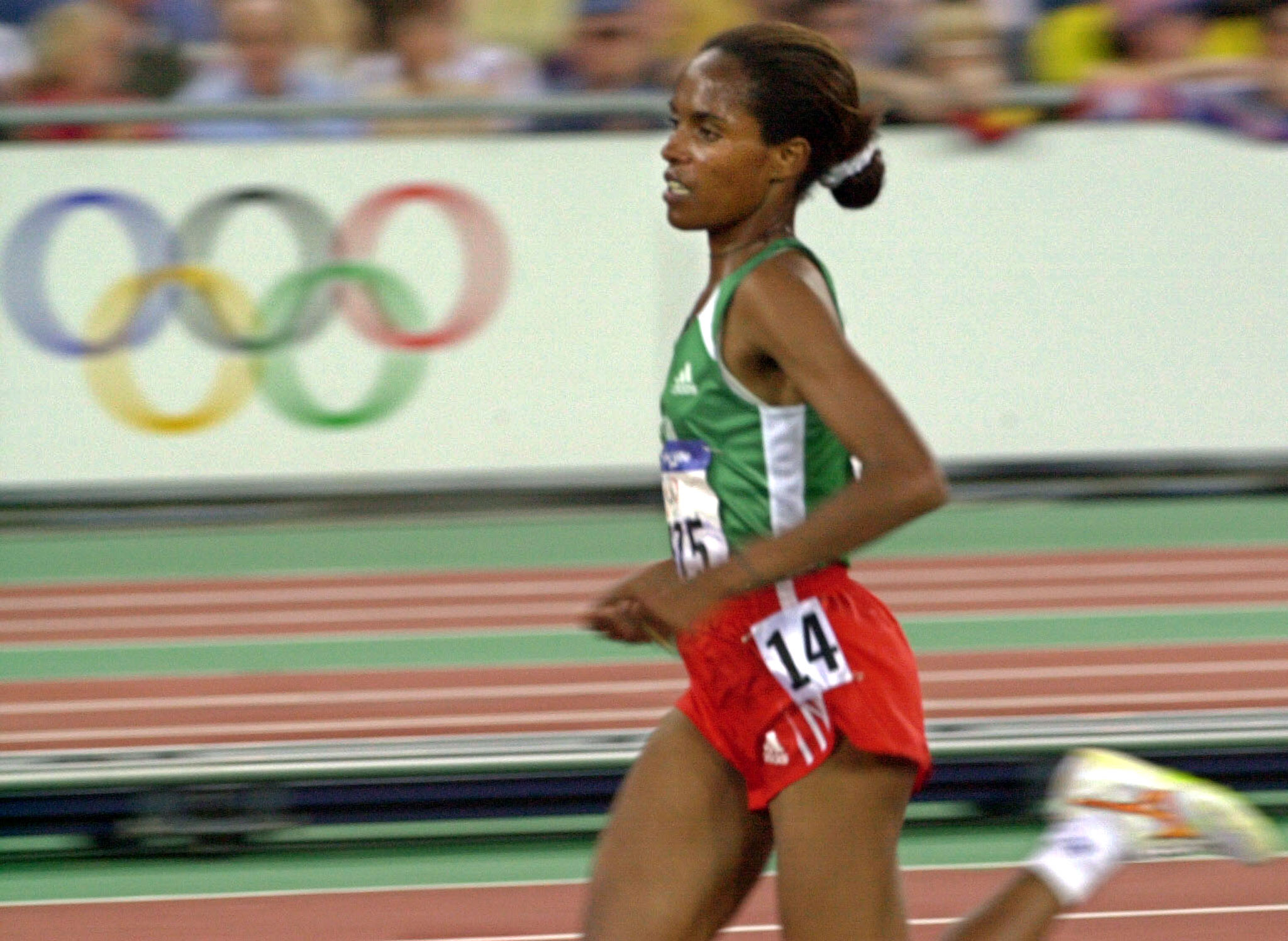 Derartu Tulu is a double Olympic 10,000m gold medallist, having won at Barcelona 1992 and Sydney 2000 ©Getty Images