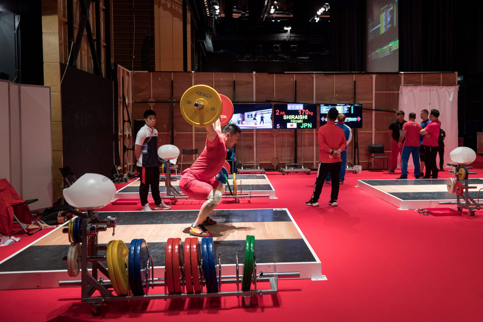 Weightlifting has seen a reduction in quota places and weight categories ©Getty Images
