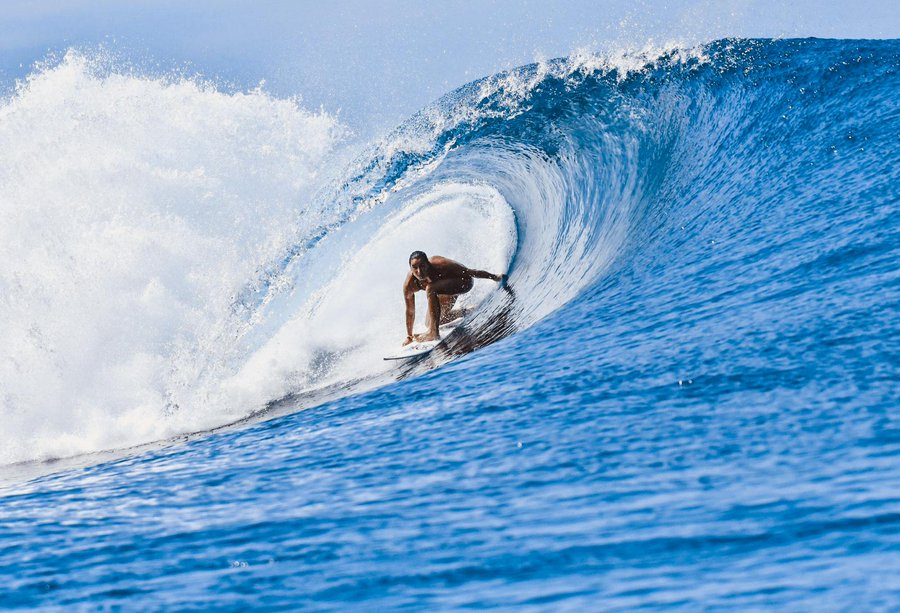 Surfing competition will take place at Teahupo'o in Tahiti ©Paris 2024