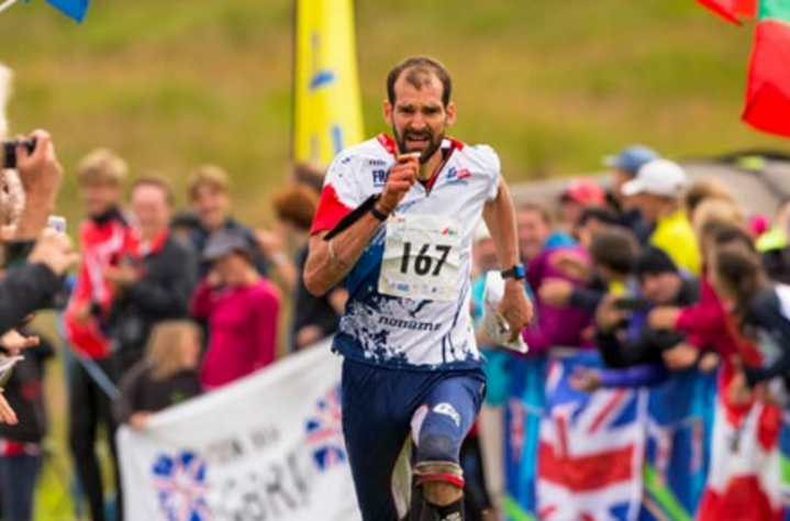 Thierry Gueorgiou of France won the men's long-distance race at the World Orienteering Championships in Scotland