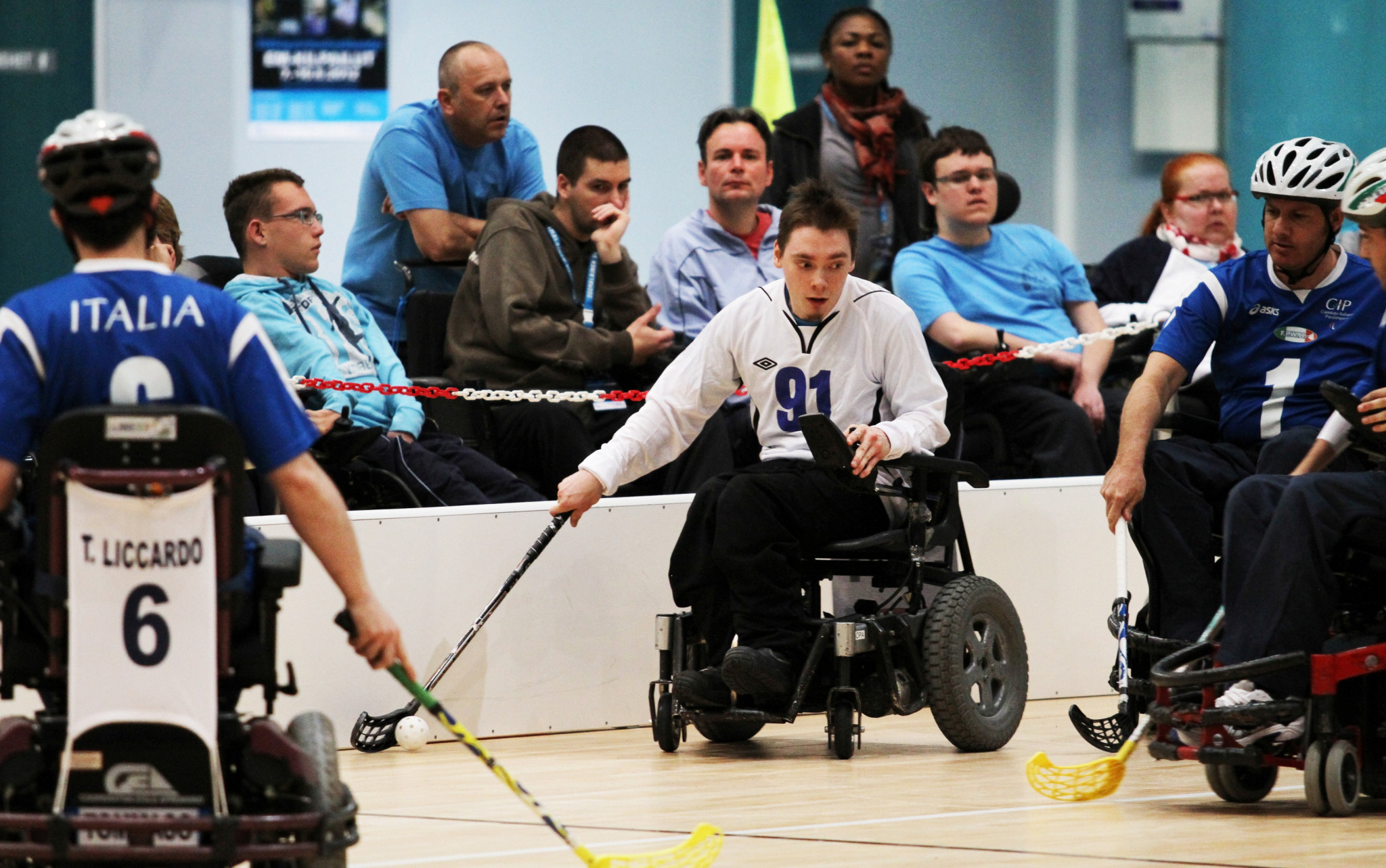 Powerchair Hockey European Championships cancelled due to COVID-19 pandemic