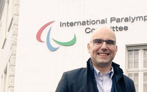 Thanos Kostopoulos has joined the Milan Cortina Organising Committee ©Italian Paralympic Committee