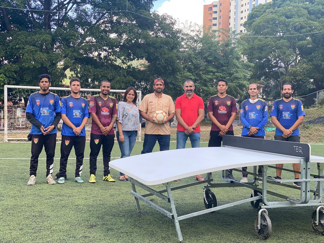 Venezuelan Teqball Federation holds presentation of sport in Carabobo