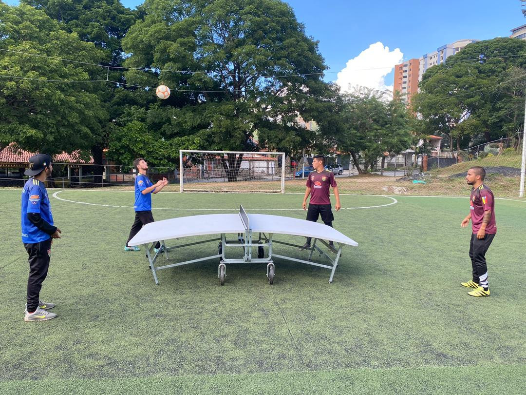It was hoped the teqball presentation would increase participation in the sport in Venezuela ©FITEQ