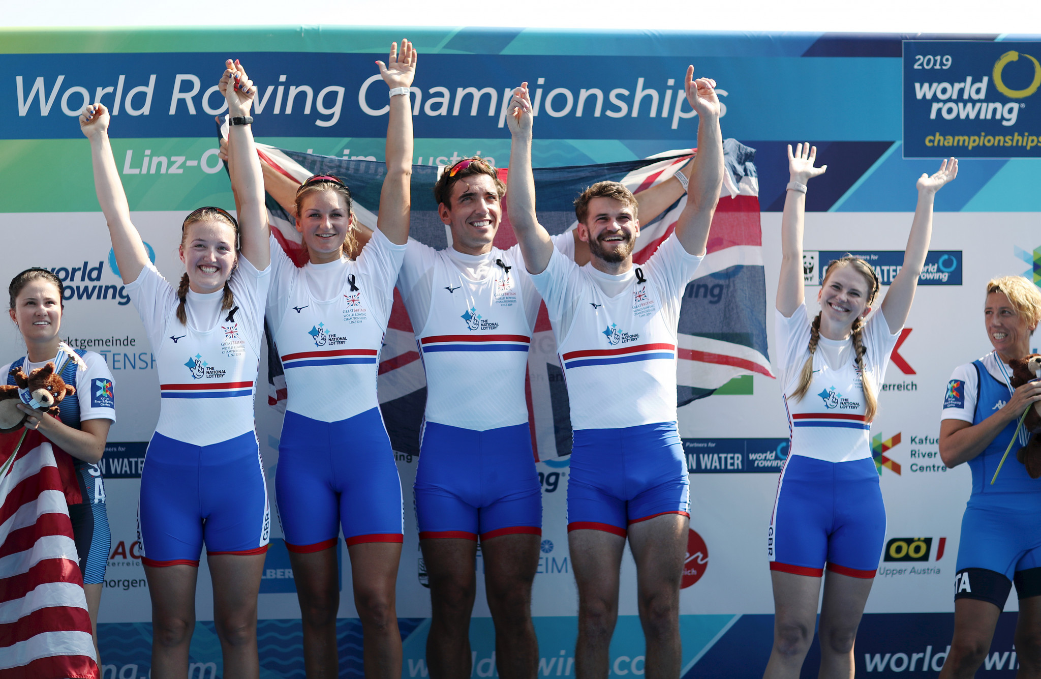 Three World Rowing Championships are included as part of the deal ©Getty Images