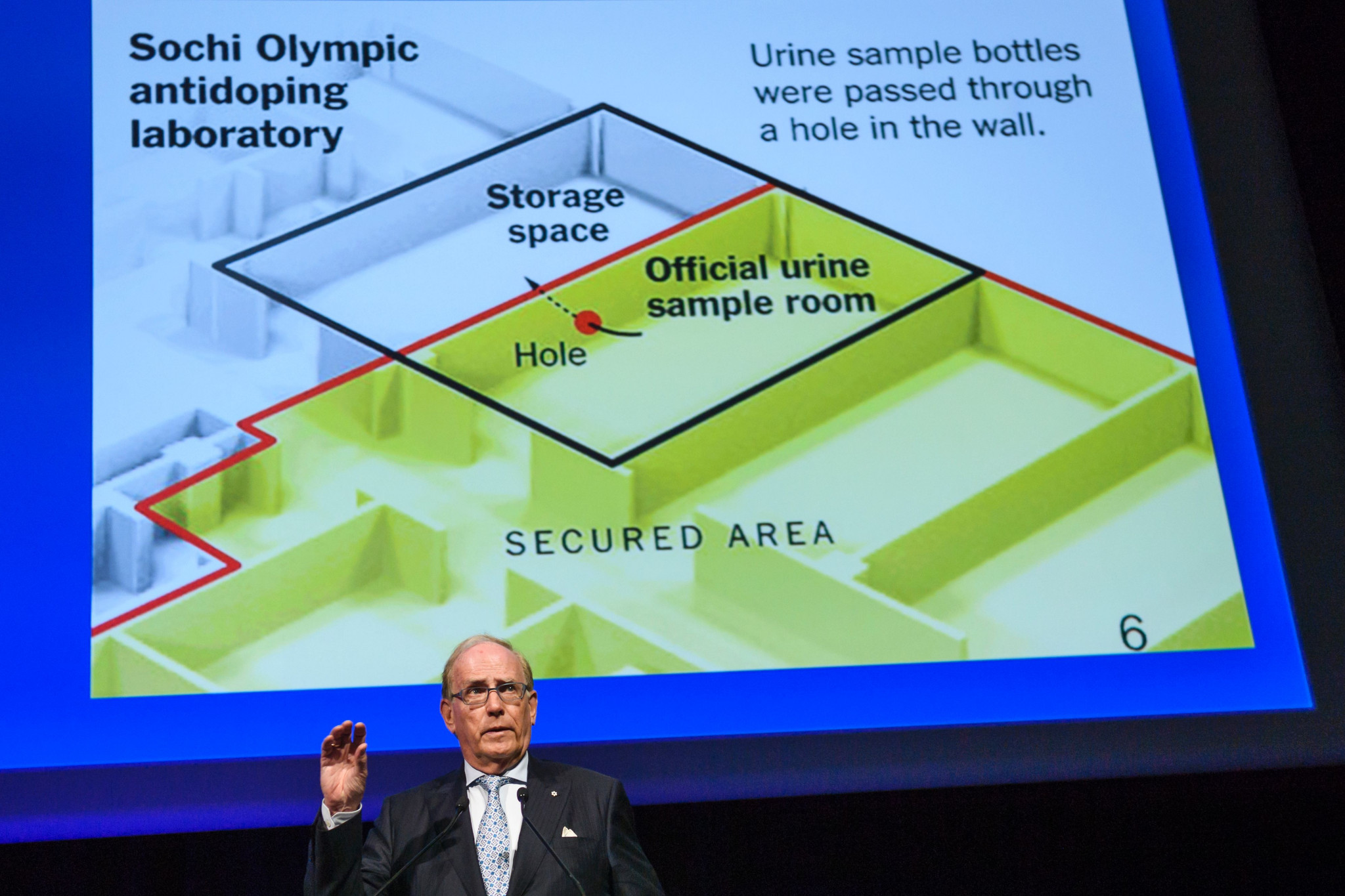 Samples from Russian athletes have already been reanalysed following the Sochi 2014 doping scandal ©Getty Images