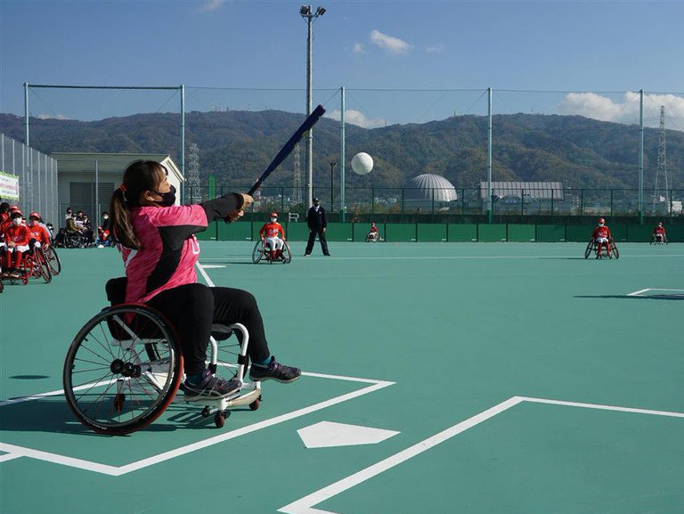Japan opens first wheelchair softball facility in Osaka