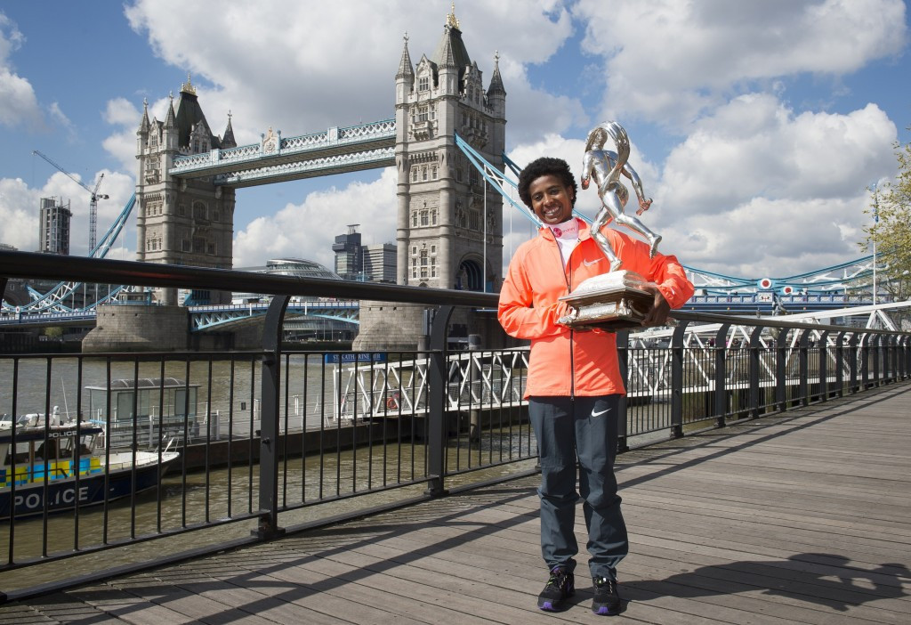 Tufa targets London Marathon title defence in 2016